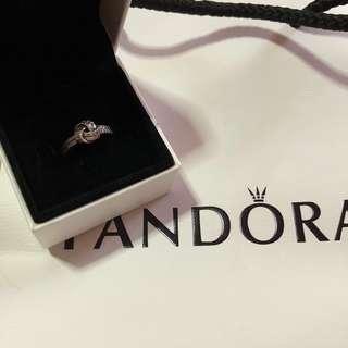 Pandora Love Knot Ring