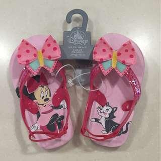 New Unworn Disney Minnie toddler sandals size US5/6