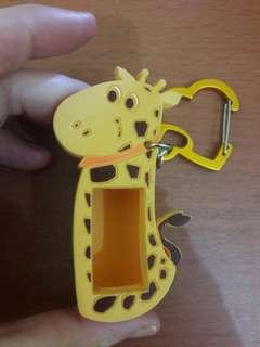 Preloved Gantungan Tas Jelly Kuning Karakter
