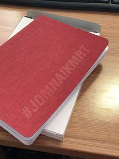 Limited Edition JomNaikMRT 2018 Notebook