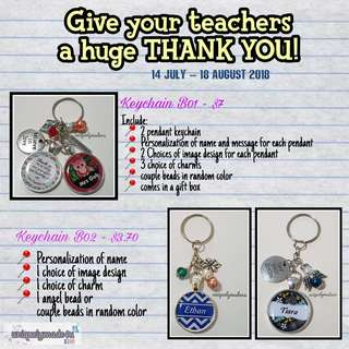 Pre-order Teacher's Day Personalized Gifts