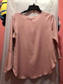 Baby pink blouse