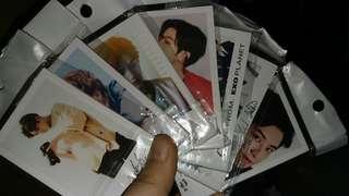 EXO BTS防彈少年團 TFBOYS lomo卡