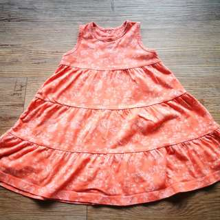 Mothercare Girl Tangerine Dress