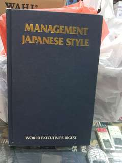 MANAGEMENT JAPANESE STYLE