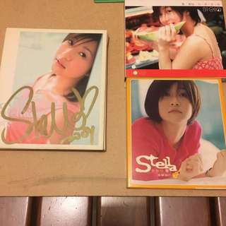 Stella Ng 黄湘怡 Albums (one Autographed)