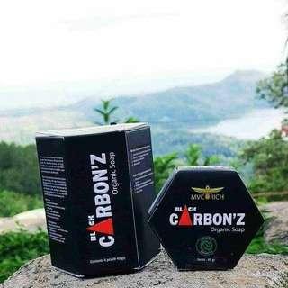 Black carbons soap
