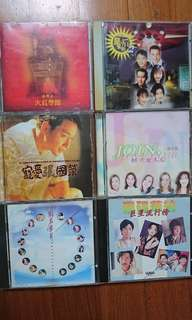 Hk CDs $15ea