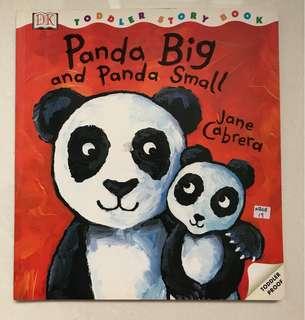 Panda big and panda small book