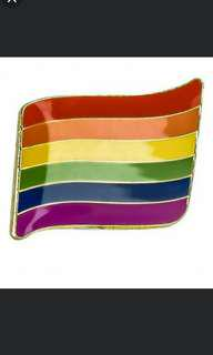 🚚 [INSTOCK] LGBTQ+/ Pride Flag Pin