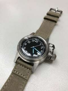 Usn buships military canteen watch 軍錶