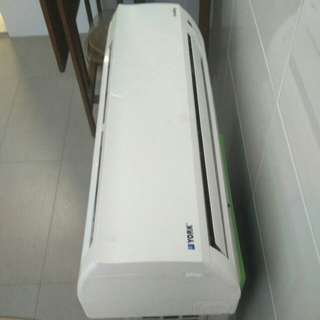 York 1hp Air Conditioner
