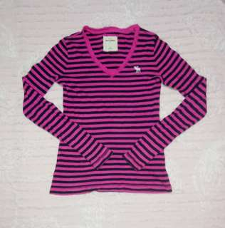 """Abercrombie&Fitch"" Girls Long-sleeves"