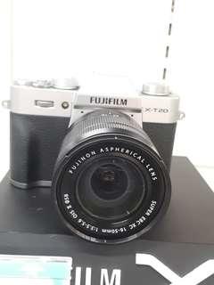 Kamera FujiFilm X-T20 Lens 16-50 Cash Back 1juta (Kredit MURAH)