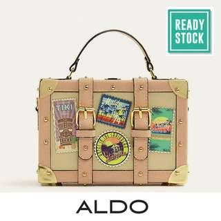 AUTHENTIC ALDO BOX BAG (PALE PINK) AL052