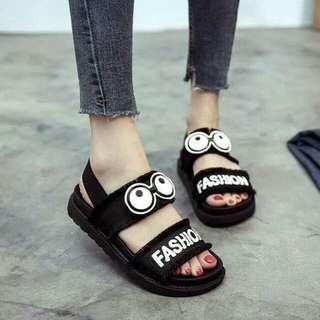 Sandal wanita puyuh ananta hitam
