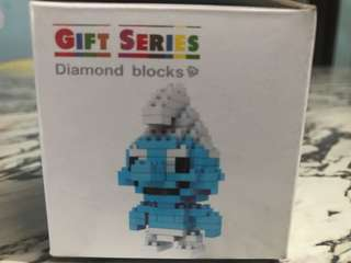 Smurf Nano Blocks