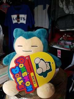 Pokemon snorlax stuffed toys