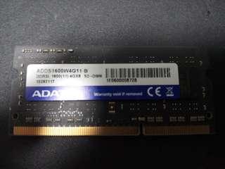 4GB DDR3L SODIMM Memory