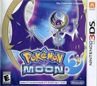 🚚 Pokemon Moon 3DS