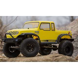 🚚 ECX 1/12 Barrage Gen2 1.55 4WD Scaler Brushed RTR: Yellow - Available Now!