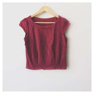 (SALE!) Cap sleeves top