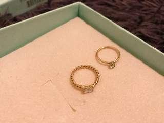 🚚 韓系氣質小拇指戒指