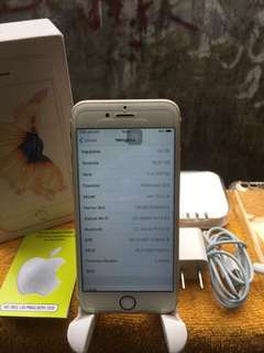 iphone 6s 64gb fullset muluss