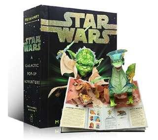 Star Wars A Galactic Pop-Up Adventure 星球大戰立體書