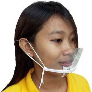 Meisons PVC SPIT GUARD SNEEZE GUARD MOUTH PIECE GUARD