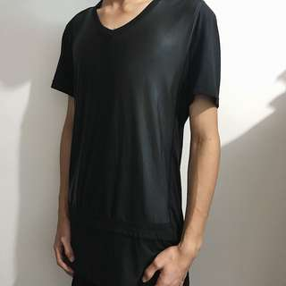Black Shirt (Vneck)
