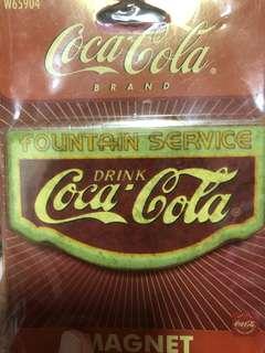 Vintage Coca Cola magnet