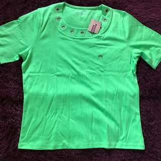 Allison Daley Green Blouse