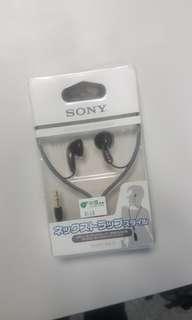 sony耳機 earphone (全新)