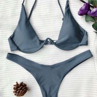 Gray Bikini