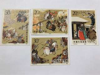 Prc china T157 romance of the 3 kingdom mnh