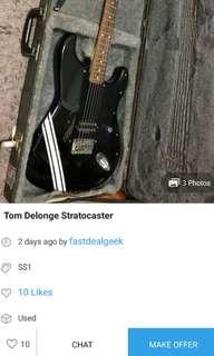 PSA Fake Fender Strat