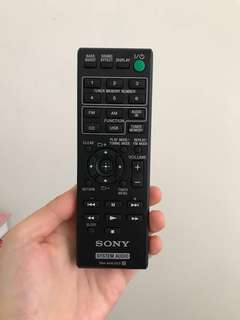 99% new Sony system audio 遙控 remote control
