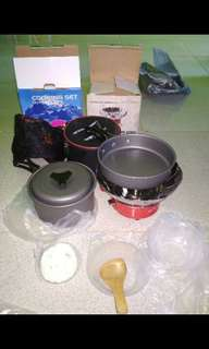 Paket hemat masak outdoor kompor windfroop plus Ds200