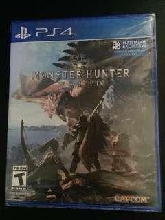 PS4 Monster Hunter World (New)