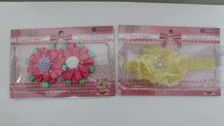 Baby girls' hair accessories