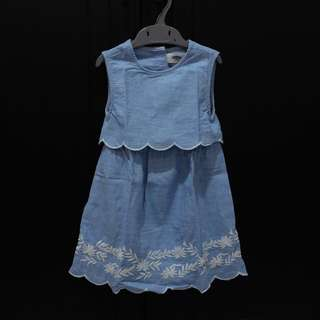 Old Navy Blue Summer Dress