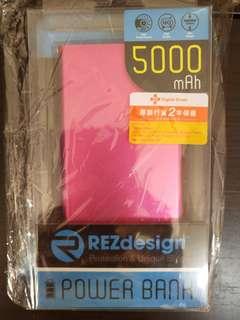 REZdesign 5000mAh Power Bank 兩年保用 2018年6月17日買 尿袋 充電器