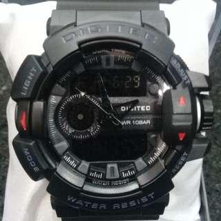 Jam tangan Digitec dualtime original