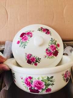 Floral Ceramic Serving Dish - 3 sets.