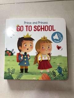 Go to school - sound book