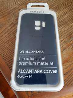 Samsung S9 Alacantara cover