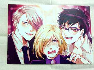 [REDUCED] Yuri On Ice Poster