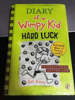 Diary of a Wimpy Kid Hard Luck (Brand New)
