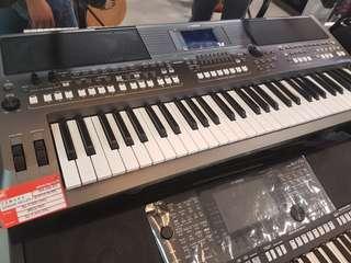 Yamaha Keyboard PSR S-670+Adaptor PA-30DC Promo Bunga 0% Dp 0%